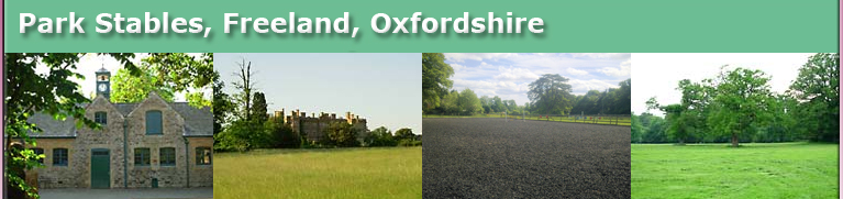 BHS approved Livery yard in Freeland Oxfordshire, UK offering DIY livery services between Oxford and Witney